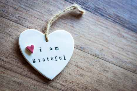 five things to be grateful for