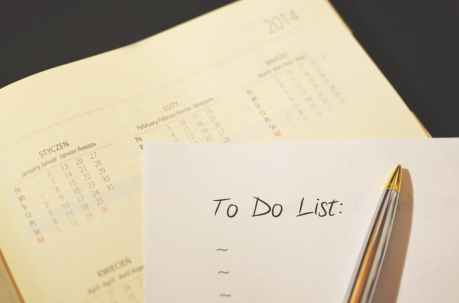 to do list, success, self help