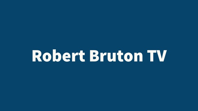 Robert Bruton, TV, video