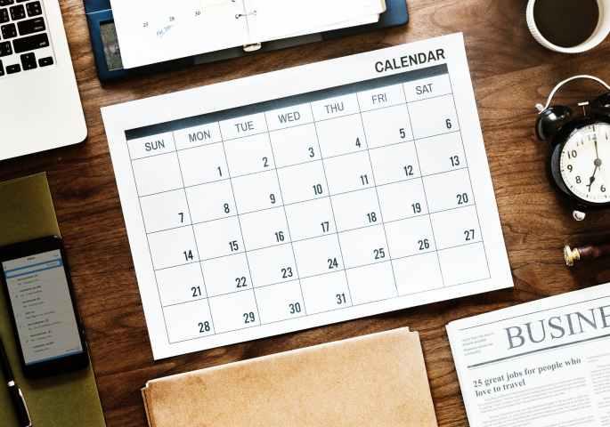Organize, calendar, tasks