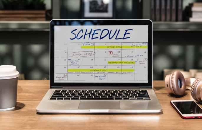 plan, schedule, success